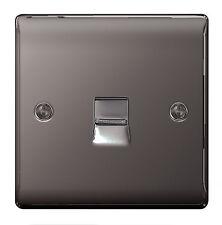 BG Nexus metallo nbnbts 1-nichel nero cromato 1 Gruppo presa BT telefono Slave