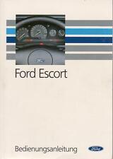 FORD ESCORT CABRIO Betriebsanleitung 1992 Bedienungsanleitung Handbuch MK6  BA