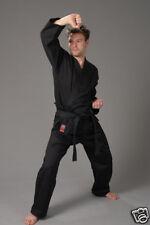 "TUTA Karate ""to start"" Black con cintura bianco, 100-170cm"
