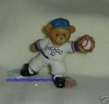 Cherished Teddies Chicago Cubs Ron Santo 2001 SIGNED