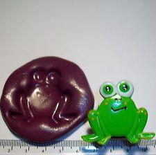 Stampo in Silicone Frog incollare cup cake topper glassa fondente Decorazione Craft