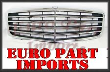 Mercedes Benz W211 Front Center Black Grille Germany Genuine OE 2118801783