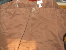 Plus Size- Venezia Woman's Jeans-Size 40T Chocolate Brown-NEW W/TAGS-FREE SHIP