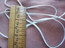 Vtg White Soutache lace trim Dress Cape Millinery Edwardian 10 YARDS
