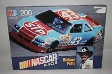 "NASCAR MB 200 PIECE ""RICHARD PETTY"" PUZZLE NEVER BEEN OPENED"