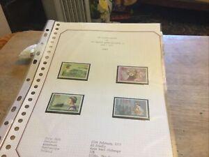 Samoa Unmounted Mint Stamp Set