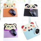 1pc Cute Animal Face-Design Anti-slip Mouse Pad Mat Laptop PC Mousepad Mice Pad