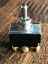TOGGLE SWITCH DPDT, ON MAINTAINED - OFF CTR -ON MOMENTARY
