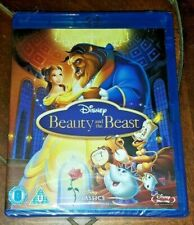 Beauty and the Beast (Blu-ray, 2014, Disney)