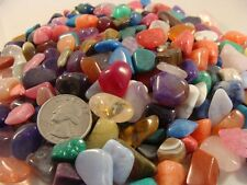 Tumbled and Polished Gemstones Small (Size #3) - Use for Crafts, Jewelry - 1 LB