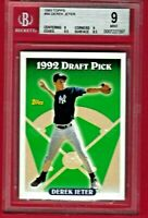 1993 Topps #98 Derek Jeter Rookie Card RC BGS 9 Mint Yankees