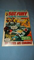 Sgt. Fury And His Howling Commandos Comic 9.2 NM-  #104 Marvel 1972