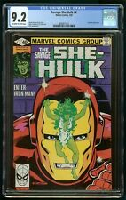 SAVAGE SHE-HULK #6 (1980) CGC 9.2 IRON-MAN APPEARANCE