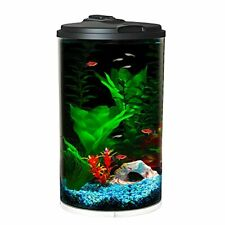 New listing Koller Products 6-Gallon AquaView 360 Aquarium Kit with Led Lighting and Powe.