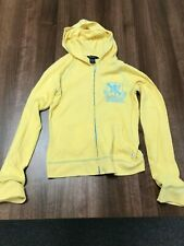 Ladies Abercrombie & Fitch Hoodie Size M Yellow
