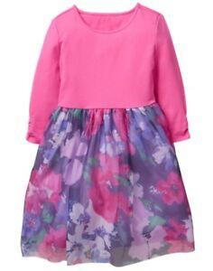 NWT Gymboree Woodland Weekend Flower Tulle Dress SZ 4,5,6,7,8,10