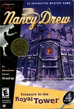 Nancy Drew - Treasure in the Royal Tower - Windows PC Computer Game (Mystery #4)