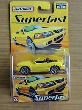 Matchbox Superfast 2005 - FORD SVT MUSTANG COBRA Nr. 22 NEU-OVP