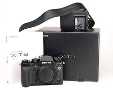 Fujifilm X-T3 Mirrorless Camera Body Only - Boxed Only 10,815 Shots + WiFi -EXC
