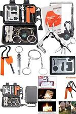 1 Survival Kit Camping Outdoor Emergency Gear Tool Tactical Hiking  Field Disast