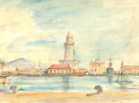 Alfred Henry Robinson Thornton NEAC (1863-1939) - 1935 Watercolour, Malaga
