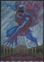 1995 Marvel Metal Silver Flasher Trading Card #53 Spider-Man 2099