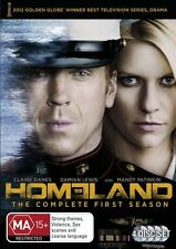 HOMELAND-Season 1-Region 4-New AND Sealed-4 Disc Set-TV Series