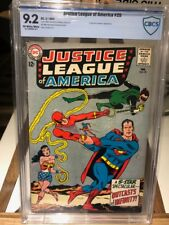 JUSTICE LEAGUE OF AMERICA  #25 CBCS NM-(9.2) *KRAAD THE CONQUEROR APP* 2/64 DC