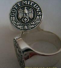 GOOT MIT UNS Ring Silber 925