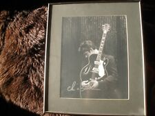 LARGE! Chris Isaak Autographed SIGNED Herb Ritts Framed 17x20 art piece COA