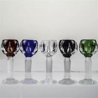 14mm Dragon Claw Glass  Bowl Slide Bowl with Free Screens Fast 5 Color Available
