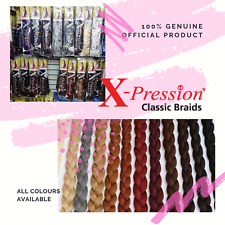 XPRESSION (XPRESSION) ULTRA BRAID HAIR EXTENSIONS FOR BRAIDING ALL COLOURS
