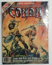 Marvel Super Special Comic Magazine # 9 Savage Sword of Conan Red Sonja