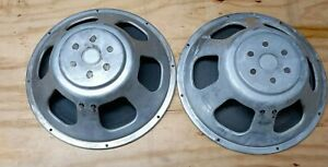 Vintage Nova 9 Realistic 15in  8ohm Woofer Replacement  Set of 2