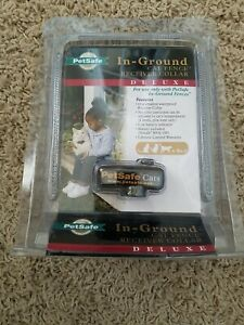 New Petsafe In-Ground Cat Fence Receiver Collar Deluxe PIG00-11006 in package