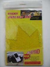 Non-Slip Car Dashboard Sticky Pad Sydney Transparent Yellow Leaf Shape