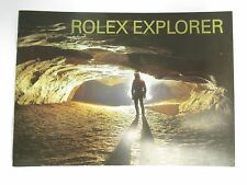 ROLEX EXPLORER EXPLORER-II MANUAL BOOKLET 16570 14270 ENGLISH