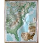 UNITED STATES Eastern States inset of Niagara Falls - Vintage Map 1922