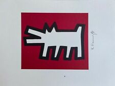 Keith Haring | Barking Dogs. High Quality Color Lithograph