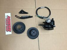 Mopar 273 318 340 360 Power Steering Pump Brackets Pulleys 1964-66 A B Body Dart