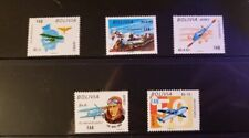 Bolivia Stamps - #C331-C335 -50th Anniversary of Bolivian Air Force -MNH XF-1974