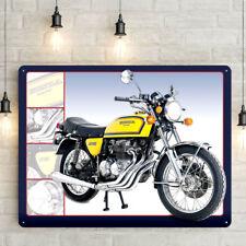 Honda 400 Four Motorcycle Sign Retro Metal Plaque Garage Motorbike 30 x 41cm