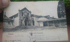 1907 CARTOLINA AUTOGRAFATA DAL DRAMMATURGO FERRARESE DOMENICO TUMIATI DA FIESOLE