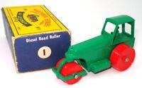 LESNEY MATCHBOX NO. 1D DIESEL ROAD ROLLER - MINT BOXED - $400 BOOK VALUE!