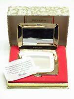 Rare 1960's NOS Vintage Revlon Van Cleef Arpells Powder Make Up Compact MCM