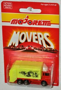 Majorette Movers Series 200 #247 Benne Ordure Hippo Garbage Truck MOC Thailand