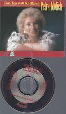 CD--PETRA MOELICH--KUESSCHEN STATT KNOELLCHEN -5 TRACKS, INCL. KARAOKE,