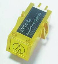 Audio-Technica AT14Sa Cartridge BODY *UNUSED* Make FULL Cartridge With ATN14 Sty