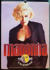 Madonna 1996 Calendar England import
