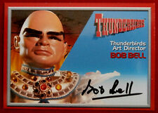 Thunderbirds - BOB BELL, Art Director - Personally Signed Autograph Card - 2001